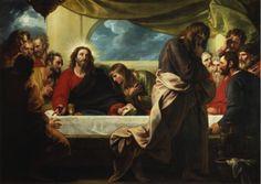 The Last Supper - Benjamin West ~ THE RACCOLTA