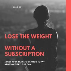 Stop yo-yo dieting and actually lose 50 Lbs of fat. Start Today!