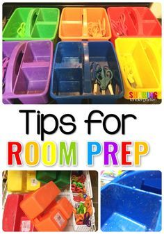 A Few Small Tips for Prepping Your Classroom. - Sharing Kindergarten