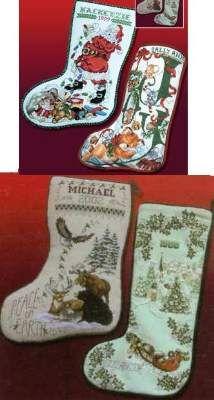 Best of Stoney Creek Christmas Stockings I by Stoney Creek - Cross Stitch Kits & Patterns