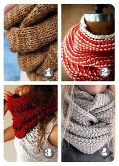 Lula Louise: Roundup - Free Knitted Cowl Patterns