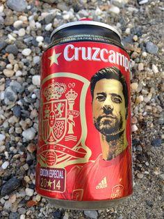 #cruzcampo #soccer #futbol #laroja #packaging