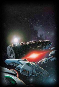 Space Fantasy, Sci Fi Fantasy, Psychedelic Space, Perry Rhodan, Sci Fi Spaceships, 70s Sci Fi Art, Japanese Monster, Arte Tribal, Alien Worlds