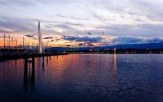 Geneva Sunset, Switzerland