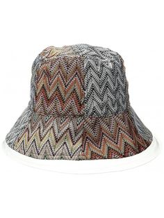 67a874430ca9d Women s Knitted Bucket Hat - Multi - CY12O4NH6I6