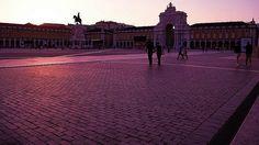 Lisboa, Praça do Comércio e o Arco de Rua Augusta