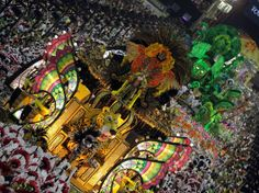 Carnaval 2012 - Desfile da Mangueira, Sambódromo do Rio de Janeiro.