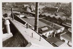 Gezicht op de bijgebouwen van de Phoenix Brouwerij, gelegen in het gebied tussen het Smallepad, Van Asch van Wijckstraat