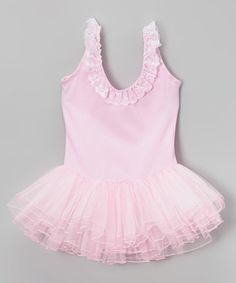 Love this Pink Skirted Leotard - Infant & Girls by Wenchoice on #zulily! #zulilyfinds