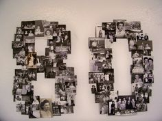 This is how our 80 turned out! Pretty good right! Really fun project, a big hit at the party!