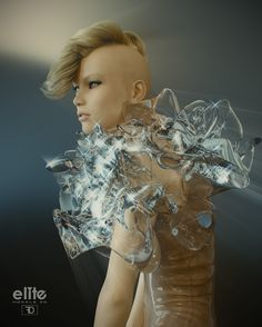 Gillian - Blender 3D render