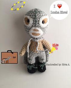 El Santo-Luchador Mexicano-baby rattle