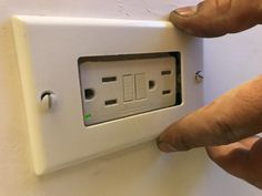Outlet was not correctly aligned with drywall. Electrical Problems, Drywall, House Projects, Seattle, Home Decor, Decoration Home, Room Decor, Home Interior Design, Gypsum