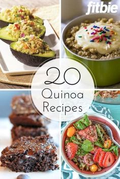 From breakfast through dessert, put the protein-packed superfood to delicious use with these inventive recipes. | Fitbie.com