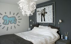 Bubblemint blog; our bedroom #home