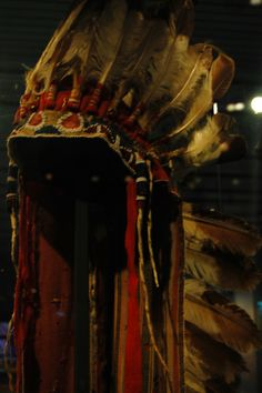 From Plains Indians with Eagle Feathers - Museum Volkenkunde Leiden (NL)