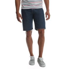 $13.92 33W Dark Stonewash Wrangler Men's 5 Pocket Denim Short - Walmart.com Summer Vacation Outfits, Dinner Outfits, Tall Guys, Big Men, Long Tops, Honeymoon Packing, Cruise Packing, Denim Shorts, Pullover