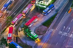 seoul bus by Jungmin Oh on 500px