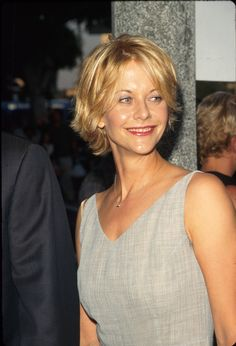 meg ryan hairstyles short hair | Meg Ryan, 'When Harry Met Sally' Star, And Her Fabulous '90s Hairstyle ...