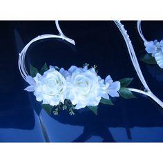Idee decoration voiture mariage cœur