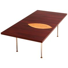 Coffee table, model 9013 by Tapio Wirkkala. Finland-1958 Signed with branded mark to underside. Made in Finland. for Asko Oy