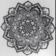 Inverted mandala