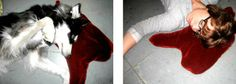 """Blood pool pillow - <3 it!  """"Project goal: taking ownership of morbidly intrusive thoughts through humor & play."""""""