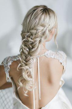 Beautiful Bridal Mermaid Hair Ideas