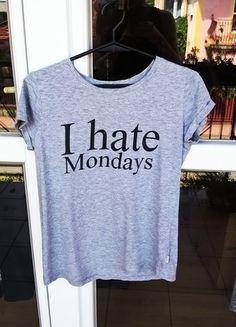 Kup mój przedmiot na #vintedpl http://www.vinted.pl/damska-odziez/koszulki-z-krotkim-rekawem-t-shirty/14282887-t-shirt-i-hate-mondays-house-szara-idealna-na-lato