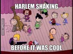Harlem Shake - Peanuts style