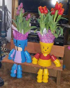 Eeyore and Winnie-the-Pooh