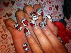 Day 36: Love is All Around Nail Art - - NAILS Magazine
