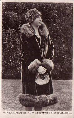 Princess Royal Mary of Britain, Viscountess Lascelles. Princess Mary lived at Goldsborough Hall throughout the 1920s.