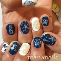 Mananails on IG: Nautical beach