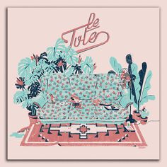 The cover of the first Ep from Le Tute. A composition of patterns from the 90s and the 80s. The shrimp cocktail will never die!