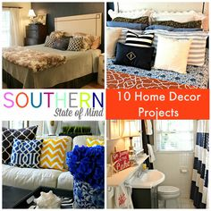 Southern State of Mind: DIY HOME DECOR inspiration