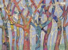 M.J. Beswick - Tree Party III - art prints and posters