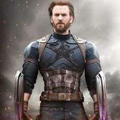 Captain America New Look : Avengers Infinity War