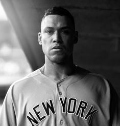 He is imposing..........@thejudge44 #aaronjudge @yankees #mlb #baseball #newyorkyankees #blackandwhite #instalike #yankeebaseball #athlete…