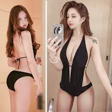 Asian hot girl : Cho Min Yeong Medium rich, just beautiful, the owner of. Save From Instagram, Asia Girl, Swimsuits, Swimwear, Female Bodies, Asian Woman, Asian Beauty, Korean Fashion, Hot Girls
