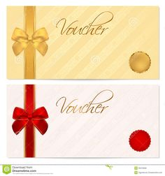 discount templates free voucher gift certificate coupon template with stripe pattern red
