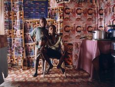 196 Untitled (from the Interiors series), 1995 - 2005 즈벨레투 므테투와 Zwelethu Mthethwa