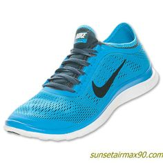 Nike Free 30 V5 Mens Dark Armory Black Blue Hero 580393 404
