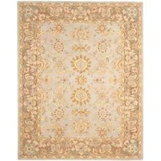 Safavieh Anatolia Teal / Brown 9 ft. 6 in. x 13 ft. 6 in. Area Rug-AN557A-10 at The Home Depot