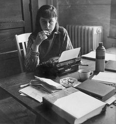 Carson McCullers.  Her book, The Heart Is A Lonely Hunter, changed my life.