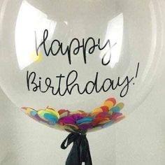 Happy Birthday Ballons, Birthday Wishes For Friend, Happy Birthday Wishes Quotes, Birthday Pins, Happy Birthday Messages, Happy Birthday Greetings, 36th Birthday, Birthday Memes, Girlfriend Birthday