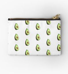 feliciasdesigns is an independent artist creating amazing designs for great products such as t-shirts, stickers, posters, and phone cases. Cute Pencil Pouches, Cute Pencil Case, Avocado Art, Cute Avocado, School Stationery, Cute Stationery, Pucker Pops, Cute School Supplies, Things To Buy