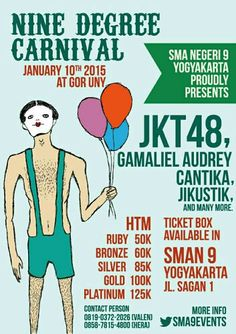 DON'T MISS IT!! JKT48, GAC, and JIKUSTIK on 10th JANUARY 2014