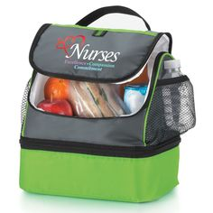 Nurses Excellence Compassion Commitment Green Bayport Lunch Bag Save 10 With Promo Code Nurse10