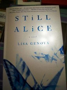 Still Alice...this fabulous novel that deals with early onset alzheimer's was originally self published by Lisa Genova.  Now it's being optioned for a movie!